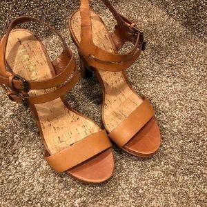 Camel Ralph Lauren Sandal Heels